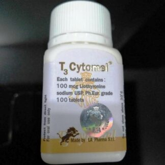 la pharma t3 cytomel 100mcg tablets for sale