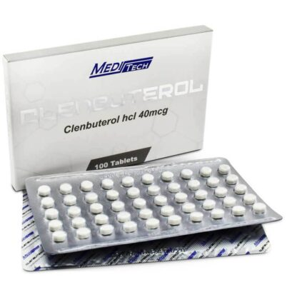 meditech clenbuterol fat burner tablets with new packaging