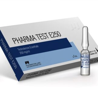 pharmacom labs 250mg testosterone enanthate injection amps