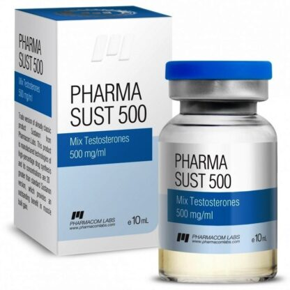 pharmacom labs sustanon 500mg injection vial